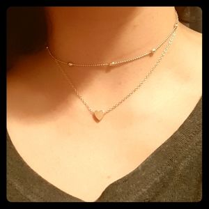 Two string necklace
